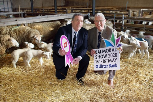 ABP Northern Ireland Managing Director George Mullan and the President of the Royal Ulster Agricultural Society (RUAS), Billy Martin celebreate ABP's renewed sponsorship deal